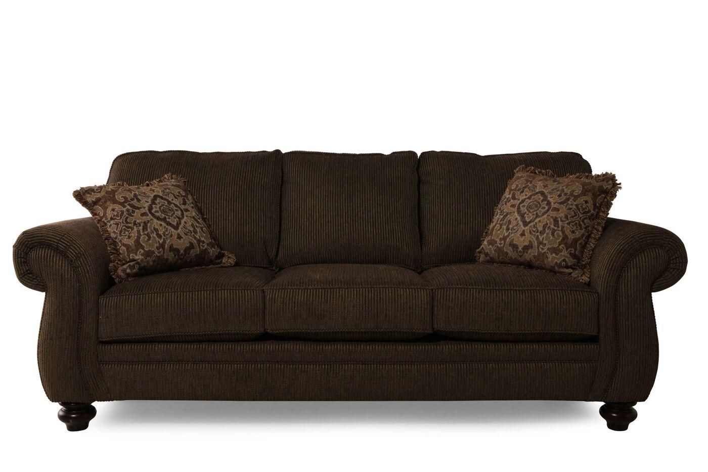 Broyhill Cassandra Sofa   Mathis Brothers Furniture