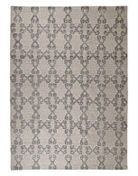 Ashley Patterned Gray/White D Large Rug