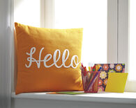 Ashley Shapeleigh Orange Pillow