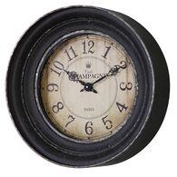 Uttermost Melania Aged Black Wall Clock