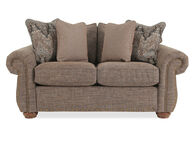 La-Z-Boy Wales Brown Loveseat