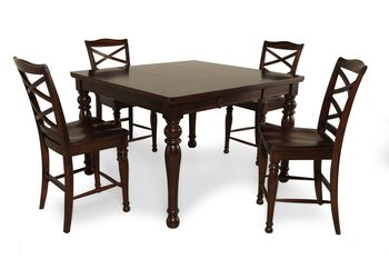 Ashley Porter Pub Dining Set Mathis Brothers Furniture
