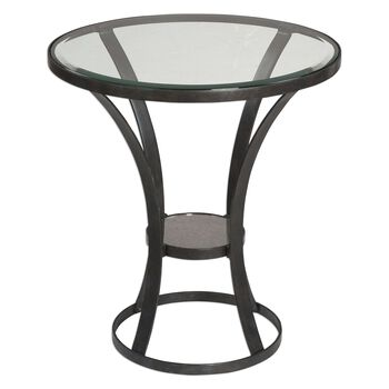 Uttermost Tomasso Iron Accent Table