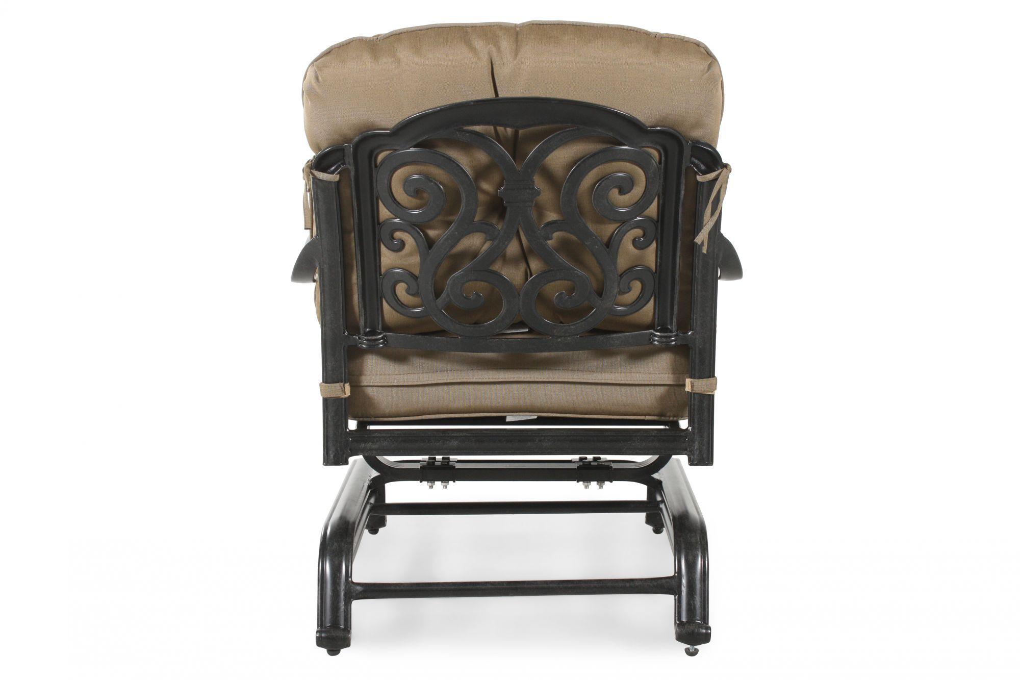 ... World Source St. Louis Club Motion Chair With Cushion ...