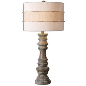 Uttermost Gerlind Wooden Table Lamp
