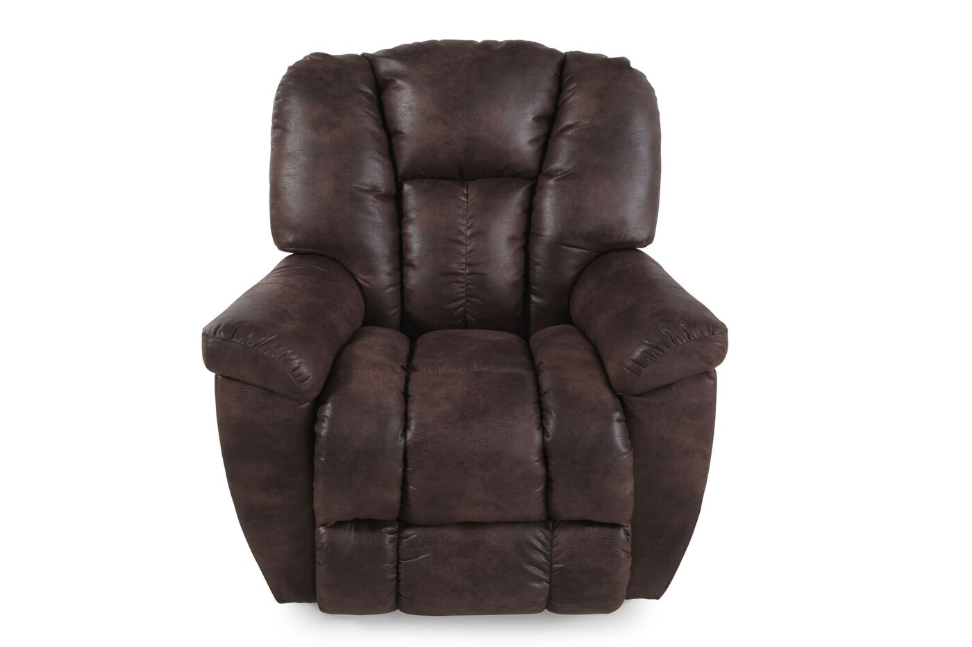 La Z Boy Maverick Sepia Rocker Recliner Mathis Brothers