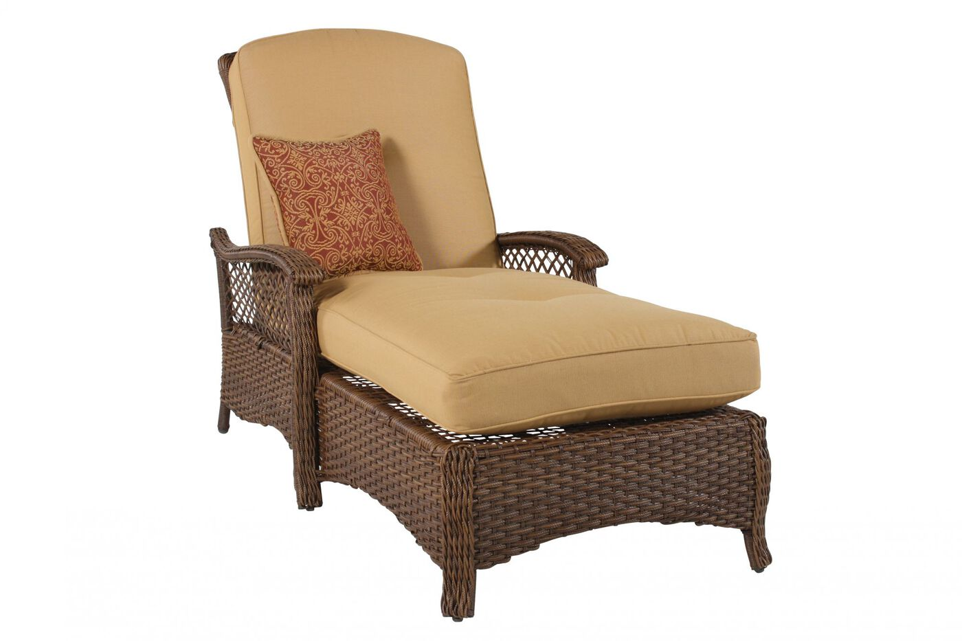agio veranda woven chaise lounge mathis brothers furniture ForAgio Chaise Lounge