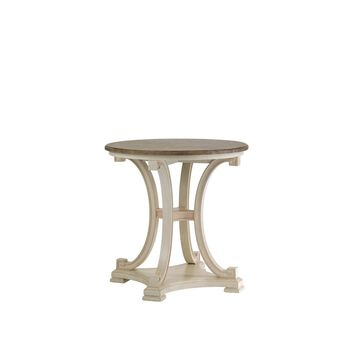 Stanley Preserve Orchid Myrtle Lamp Table