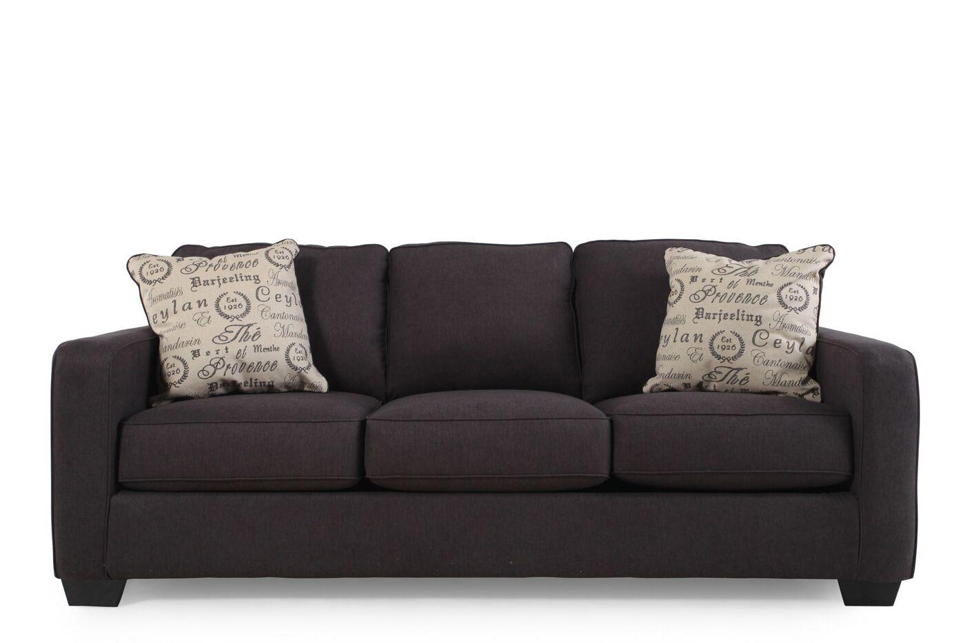 Ashely Charcoal Sofa Alenya Mathis Brothers