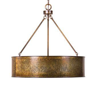 Uttermost Wolcott 5 Light Golden Pendant