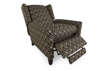 Bernhardt Wilton Recliner with Two Throw Pillows