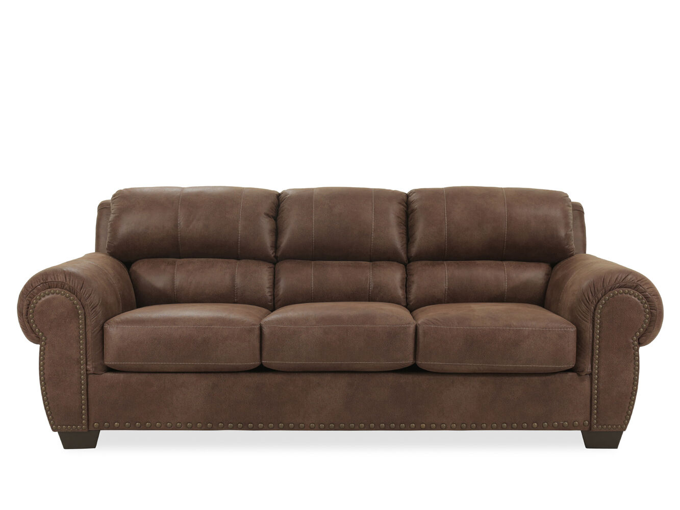 Ashley Burnsville Brown Sofa Mathis Brothers Furniture