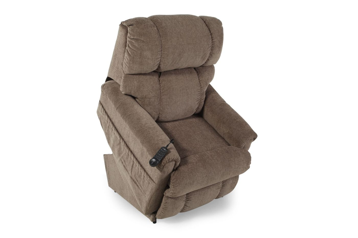 For those that need mobility assistance, La-Z-Boy power lift recliners are the perfect choice. At the touch of a button, our power lift chairs let you comfortably relax and recline, then securely assist you from a sitting to standing position.