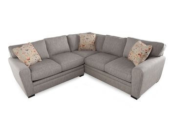 Jonathan louis artemis two piece sectional mathis for Sofa bed 91762