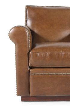 Henredon Leather Chair