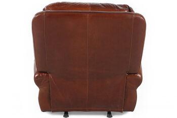 USA Leather Brandy Rocker Recliner