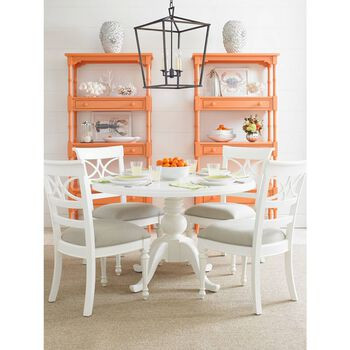 Stanley Coastal Living Retreat Spanish Orange Etagere