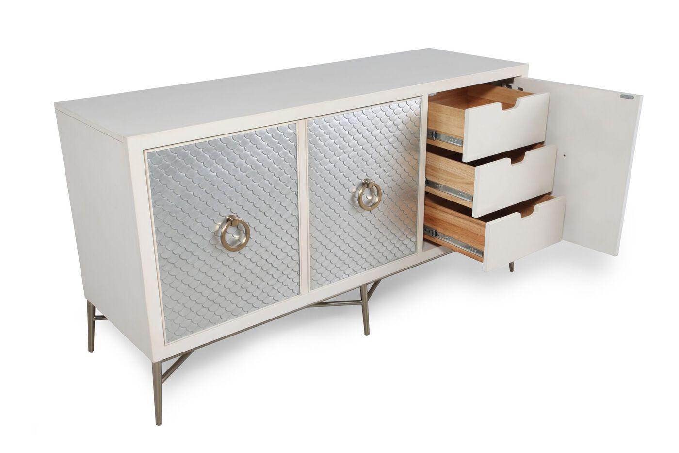 Bernhardt salon media console mathis brothers furniture for Console salon