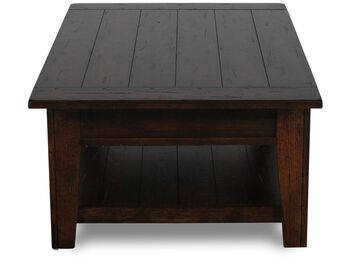 Broyhill Attic Heirlooms Rustic Cocktail Table Mathis Brothers Furniture