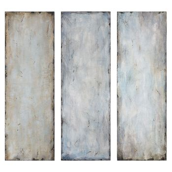 Uttermost Textured Trio Abstract Art, S/3
