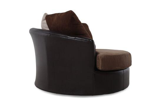 Ashley Masoli Mocha Swivel Chair