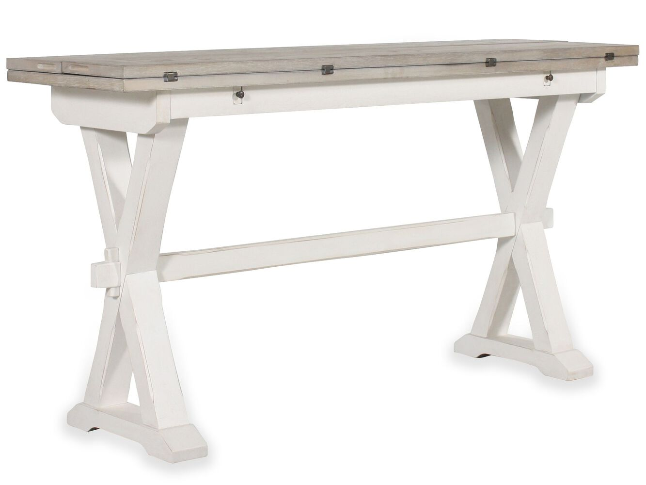 Drop Leaf Console Table Mathis Brothers