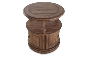 Hooker Sanctuary Round Lamp Table