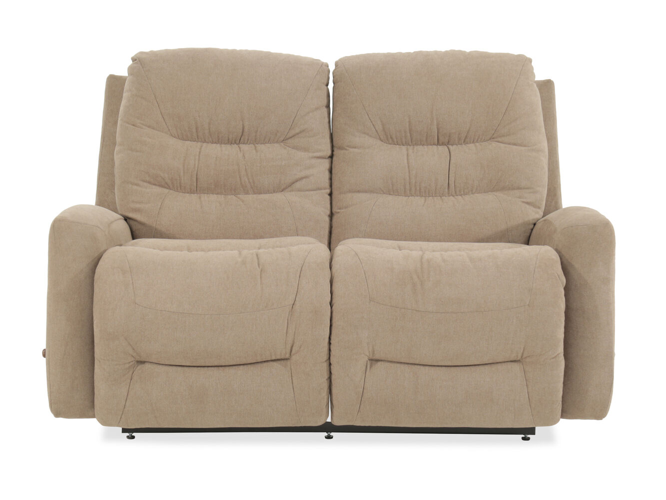 La Z Boy Ace Reclina Way Beige Loveseat Mathis Brothers