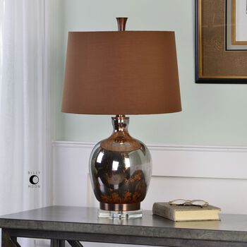 Uttermost Lilas Mercury Glass Table Lamp