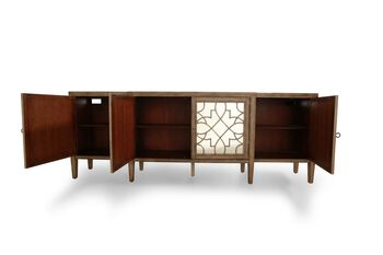 Hooker Sanctuary Mirrored Console