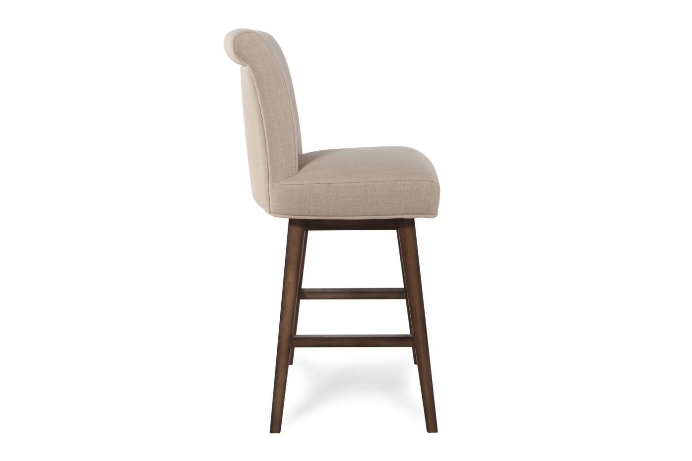 Boulevard Beige Swivel Bar Stool Mathis Brothers Furniture