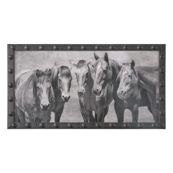 Uttermost Meeting Of The Minds Horse Print
