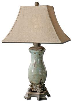 Uttermost Andelle Light Blue Table Lamp