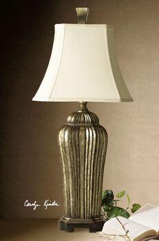 Uttermost Sanchiel Tall Silver Lamp