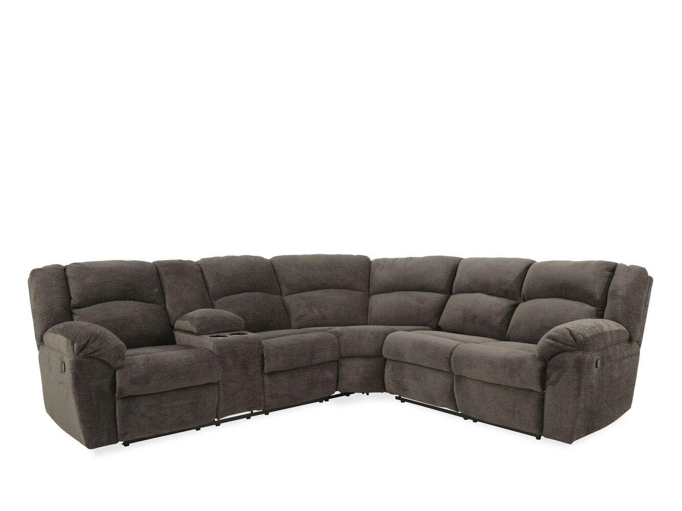 Ashley Benchcraft Timpson Slate Reclining Sectional Sofa