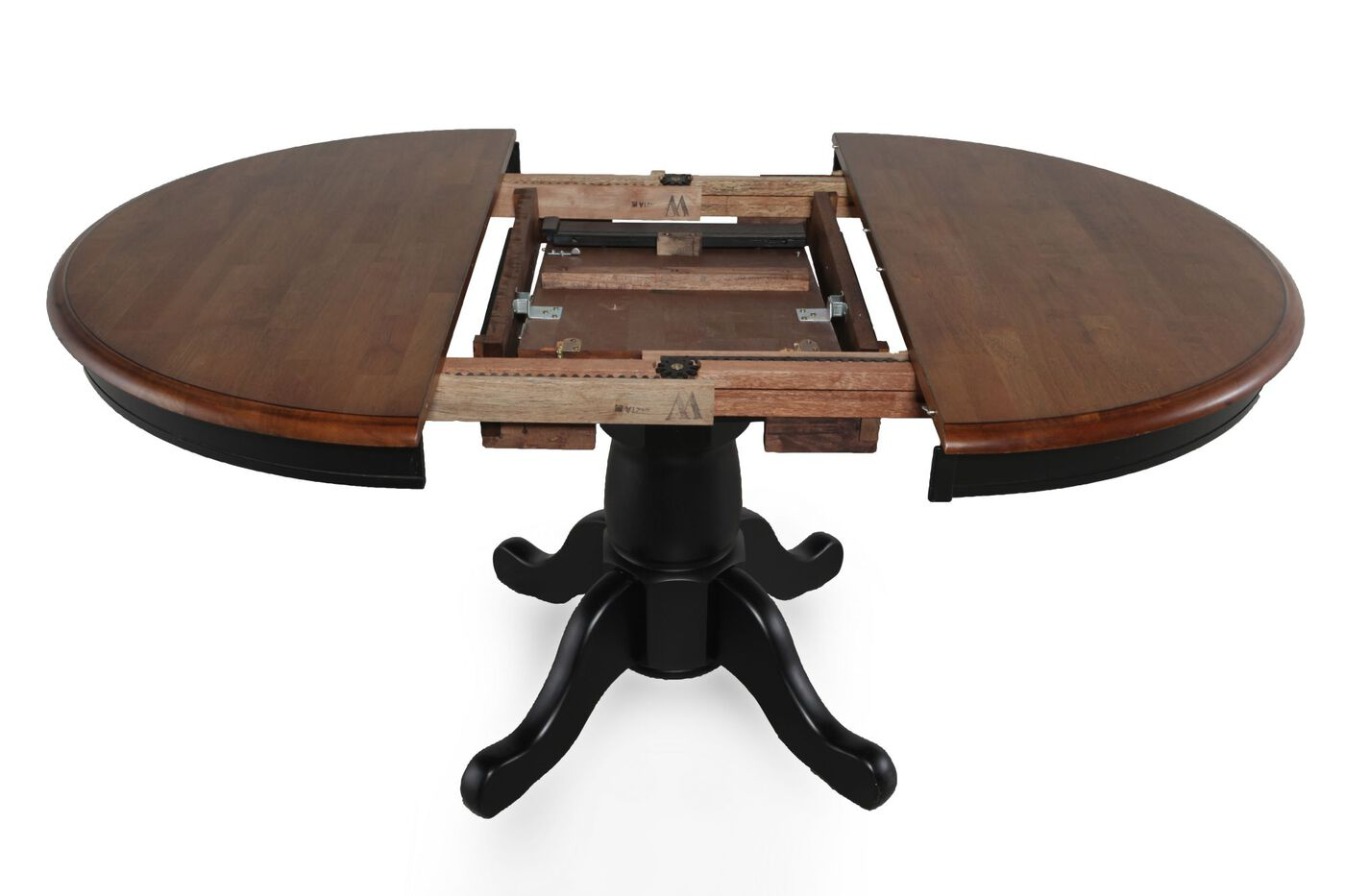 Winners Only Quails Run Pedestal Table Mathis Brothers