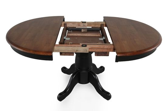 Winners Only Quails Run Pedestal Table