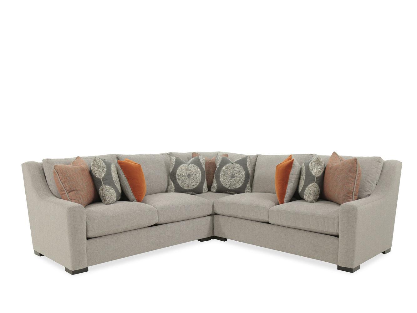 Bernhardt Germain Three-Piece Sectional Sofa | Mathis ...