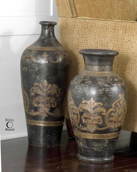 Uttermost Mela Tall Decorative Vase