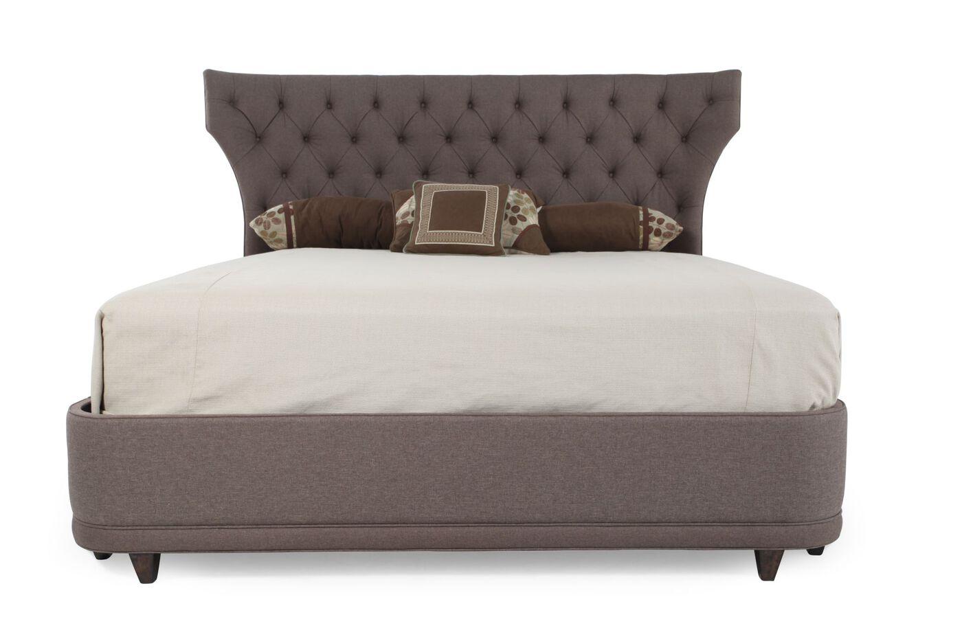 A R T Furniture Classics Upholstered Platform Bed