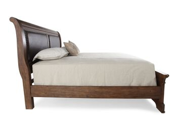 Samuel Lawrence American Attitude Upholstered Panel Bed