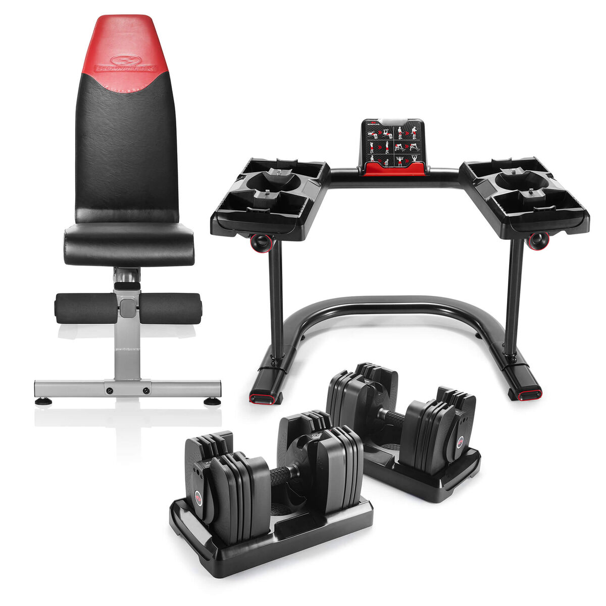 Bowflex Selecttech 560 Bench And Stand Bundle Bowflex Bowflex