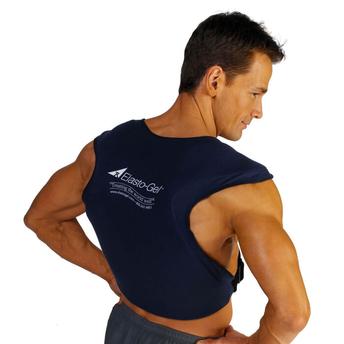 Elasto-Gel Hot-Cold Neck-Back Wrap