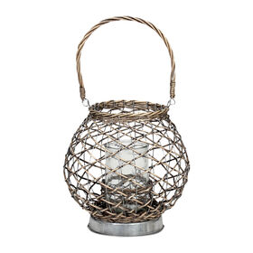 Picture of Galvanized Lantern- Willow 6-in