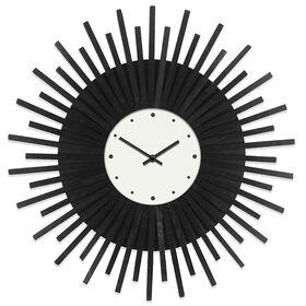 20-in Rustic Starburst Clock