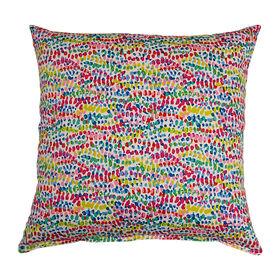 Picture of Vortex Rainbow Decorative Pillow- 17-in