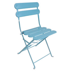 Picture of Slat Folding Chair - Spa Blue