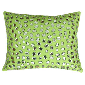 Picture of Andre Gem Throw Pillow- Lime 12X15-in