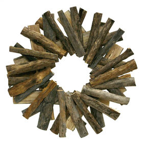 Picture of Coastal Driftwood Wreath- 19.5-in