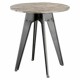 Picture of Cumberland Metal & Wood Round End Table
